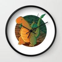 patrick Wall Clocks featuring Patrick by Fernanda Frasson
