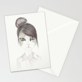 Adorable kitty Stationery Cards