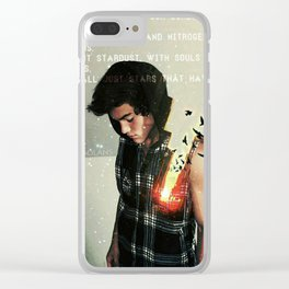 Souls made of flames Clear iPhone Case