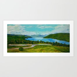 Canandaigua Lake Art Print