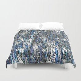 Abstract blue 2 Duvet Cover