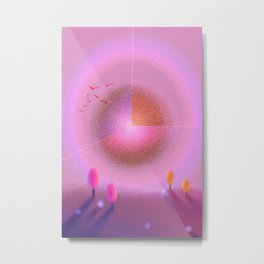 Pink Aesthetics  Metal Print