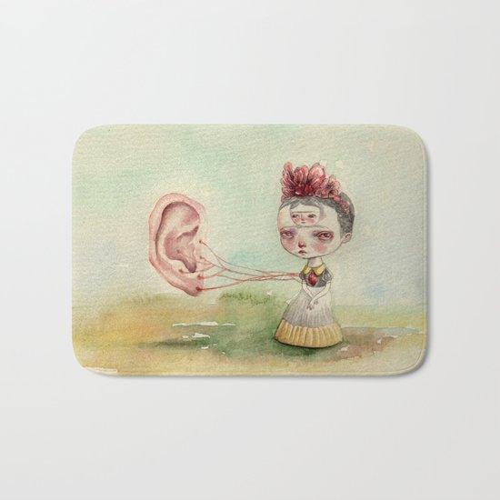 Frida and Gogh's Ear Bath Mat