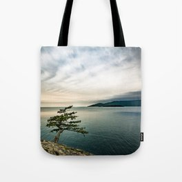 Life on the Edge Tote Bag