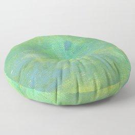 Abstract No. 687 Floor Pillow