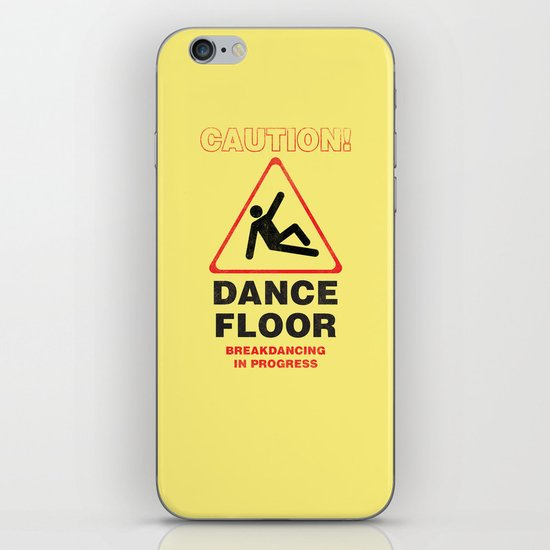 Cuation: breakdancing iPhone & iPod Skin