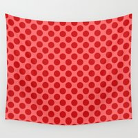 polka dot Wall Tapestries featuring Polka dot by David Zydd