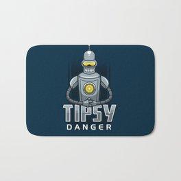 Tipsy Danger Bath Mat