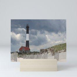 Fire Island Light From The Beach Mini Art Print
