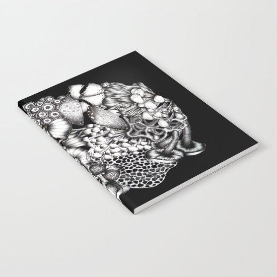 Midnight Mushrooms Notebook