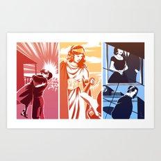 trinity mothers Art Print