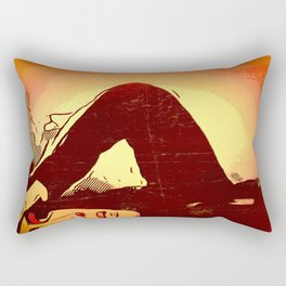 Mourning Sun Rectangular Pillow