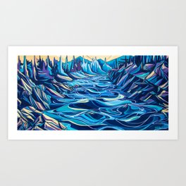 From The River Art Print