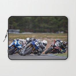 Motorcycle racing Laptop Sleeve