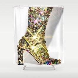 Sparkle Heel Shower Curtain