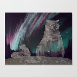 Ursa Borealis Canvas Print