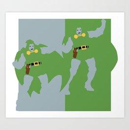 Dr. Doom Art Print