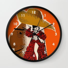 Vintage Travel Ad Cuba Wall Clock