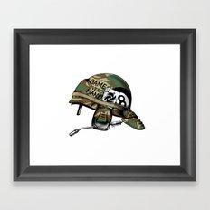 Game Over, Man! Framed Art Print