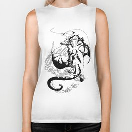 A Dragon from your Subconscious Mind #12 Biker Tank