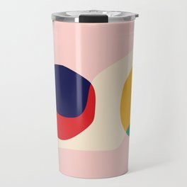 happy shapes Travel Mug