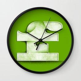 F like a Famous F word Wall Clock