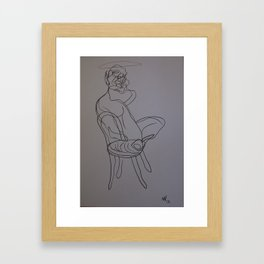 FRANCIS BACON 1 Framed Art Print