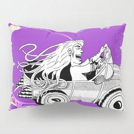 """""""Debhra's Car"""" Pillow Sham"""
