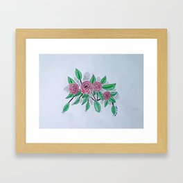 Roses VI Framed Art Print