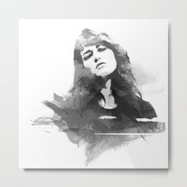 Martha Argerich Metal Print