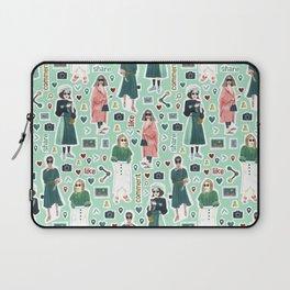 Social Girls 1 Laptop Sleeve