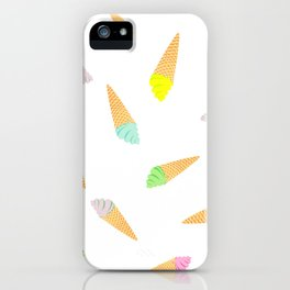 Sweety delicacy for hot summer days iPhone Case