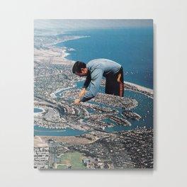Urban Planning Metal Print