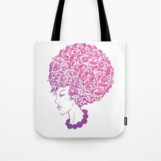 Ms. Floral Tote Bag