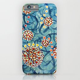 Floral Explosion #2 iPhone Case