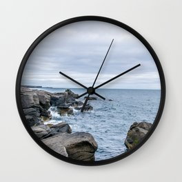 Icelandic Shore Wall Clock