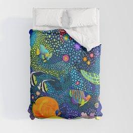 Ocean Tropical Fish Life Comforters