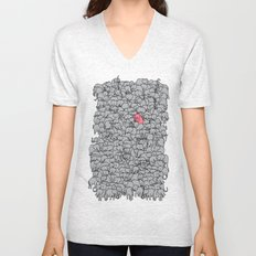 Stand Out & Be Herd Unisex V-Neck