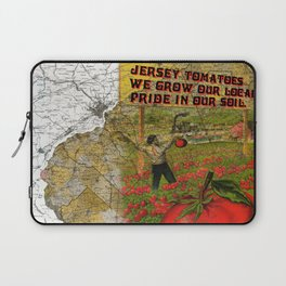Jersey Tomatoes, We Grow our Pride Laptop Sleeve