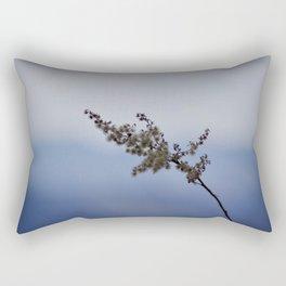 Blue Ridge Parkway Flower Rectangular Pillow