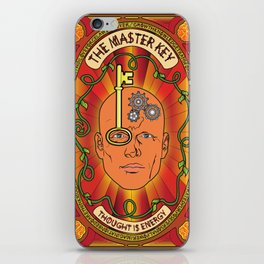 The Master Key System iPhone Skin