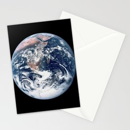 Apollo 17 - Iconic Blue Marble Photograph Stationery Cards