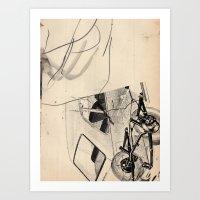 trip Art Prints featuring Trip by Paul Prinzip