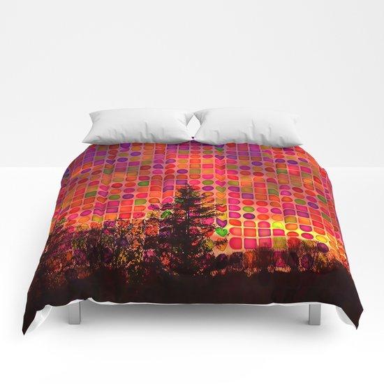 Bright Lights Comforters