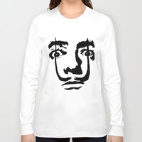 salvador dali Long Sleeve T-shirts featuring salvador dali by b & c