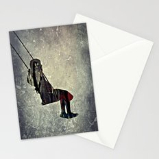 The swing (I have a bird inside me) Stationery Cards