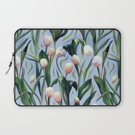 Waiting on the Blooming - a Tulip Pattern Laptop Sleeve