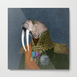 He is the Walrus Metal Print