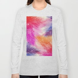 Abstact palm leaves 216 Long Sleeve T-shirt