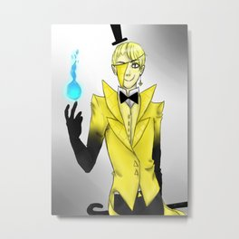 Bill Cipher Metal Print